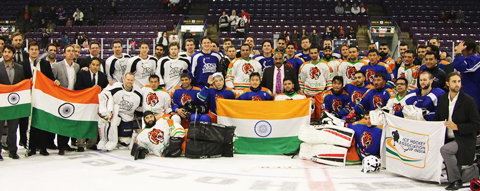 Amateur canadian hockey mine very
